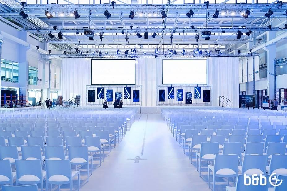 b&b - Eröffnung der Forschungsfabrik ARENA2036